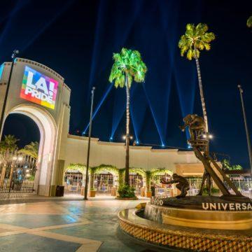 PRIDE IS UNIVERSAL at Universal Studios Hollywood