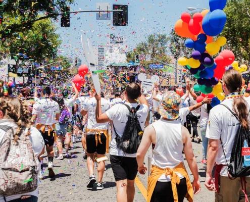 Pride on the Boulevard